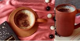 Rivayat ⧆ Handmade Terracotta ⧆  Coffee Mug ⧆ 3