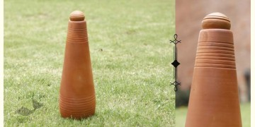 Rivayat ⧆ Handmade Terracotta ⧆  Conical Bottle ⧆ 5