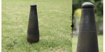 Rivayat ⧆ Handmade Terracotta ⧆  Conical Bottle-Double Baked ⧆ 6