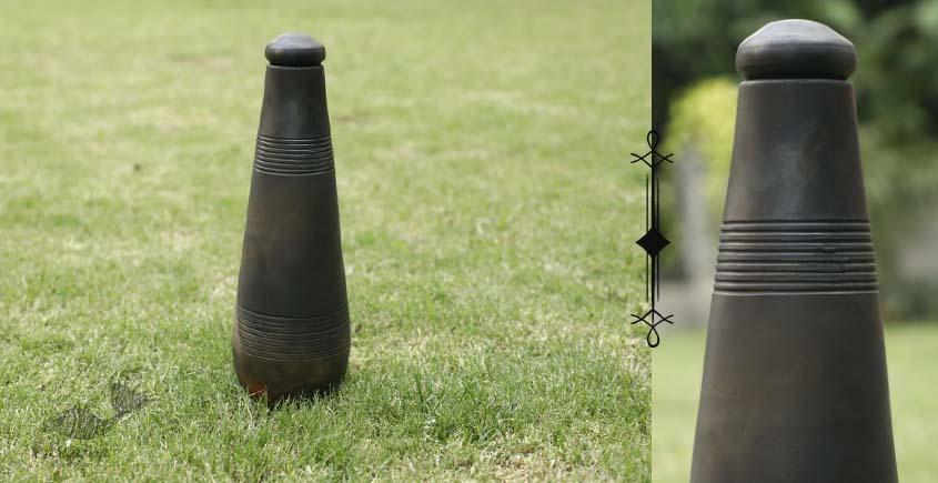 shop online Terracotta Handmade Kitchenware- Conical Bottle-Double Baked