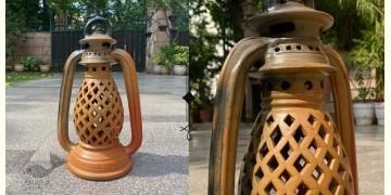 Rivayat ⧆ Handmade Terracotta ⧆ Designer Double Baked Lantern ⧆ 13