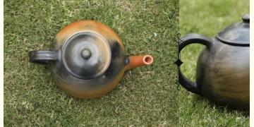 Rivayat ⧆ Handmade Terracotta ⧆  Designer Tea Kettle-Double Baked ⧆ 14