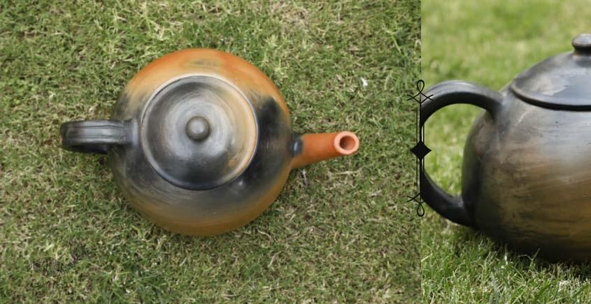 shop online Terracotta Handmade Kitchenware - Designer Tea Kettle-Double Baked
