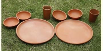 Rivayat ⧆ Handmade Terracotta ⧆ Dinner Set with Plate ⧆ 19