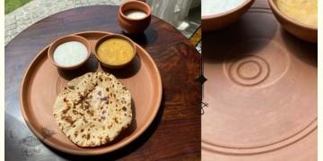 Rivayat ⧆ Handmade Terracotta ⧆ Dinner Set with Thali ⧆ 18