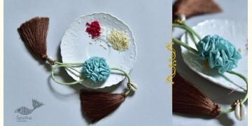 Threads of Tradition ⊛ Lumba Bhabhi Rakhi (Chanderi Fabric) ⊛ 17