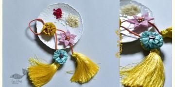 Threads of Tradition ⊛ Lumba Bhabhi Rakhi (Chanderi Fabric) ⊛ 18