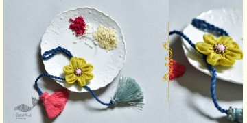 Threads of Tradition ⊛ Lumba Bhabhi Rakhi (Chanderi Fabric) ⊛ 21