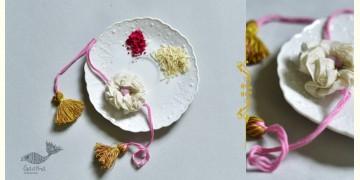 Threads of Tradition ⊛ Rakhi (Chanderi Fabric) ⊛ 2