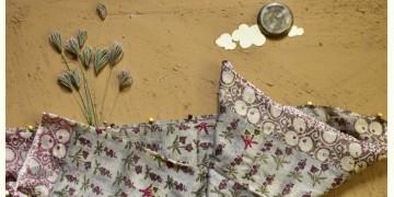 Saarang . सारंग ☁ Kota Doria Cotton Embroidered Dupatta ☁ 1