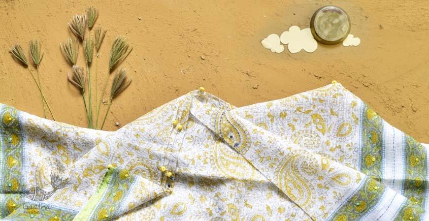 shop kota checks cotton embroidered dupatta in usa