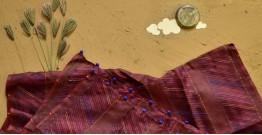 Saarang . सारंग ☁ Kota Doria Silk Embroidered Stole ☁ 13