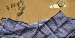 Saarang . सारंग ☁ Kota Doria Silk Embroidered Stole ☁ 15