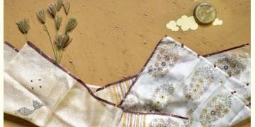 Saarang . सारंग ☁ Kota Doria Silk Embroidered Stole ☁ 19