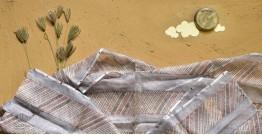 Saarang . सारंग ☁ Kota Doria Silk Embroidered Stole ☁ 20