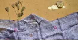 Saarang . सारंग ☁ Kota Doria Silk Embroidered Stole ☁ 21