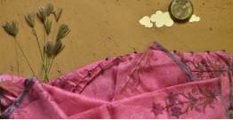 Saarang . सारंग ☁ Kota Doria Silk Embroidered Stole ☁ 22