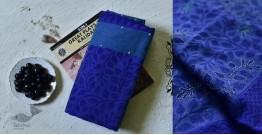 Iravati ✮ Block Printed Embroidered Cotton Silk Saree ✮ 10