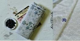 Iravati ✮  Block Printed Embroidered Kota Cotton Saree ✮ 1