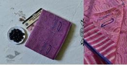 Iravati ✮  Block Printed Embroidered Kota Cotton Saree ✮ 11