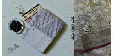 Iravati ✮  Block Printed Embroidered Kota Cotton Saree ✮ 14