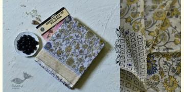 Iravati ✮  Block Printed Embroidered Kota Cotton Saree ✮ 15