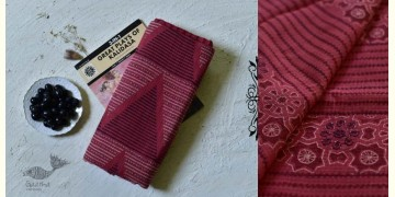 Iravati ✮  Block Printed Embroidered Kota Cotton Saree ✮ 5