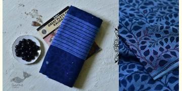 Iravati ✮  Block Printed Embroidered Kota Cotton Saree ✮ 7