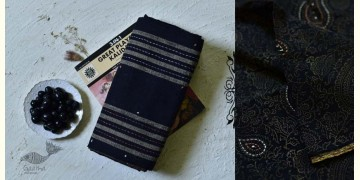 Iravati ✮  Block Printed Embroidered Kota Cotton Saree ✮ 8
