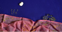 इत्तफाक ☼ Kota Doria Maheshwari ☼ Embroidered Stole - 30