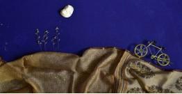 इत्तफाक ☼ Kota Doria Silk ☼ Embroidered Stole - 16
