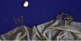 इत्तफाक ✤ Kota Doria Silk ✤ Embroidered Dupatta - 13