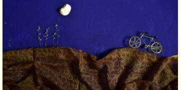 इत्तफाक ☼ Kota Doria Maheshwari ☼ Embroidered Stole - 27