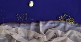 इत्तफाक ✤ Kota Doria Cotton ✤ Embroidered Dupatta - 6