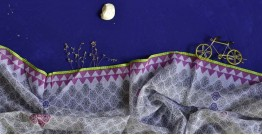 इत्तफाक ✤ Kota Doria Cotton ✤ Embroidered Dupatta - 4