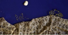 इत्तफाक ✤ Kota Doria Cotton ✤ Embroidered Dupatta - 10