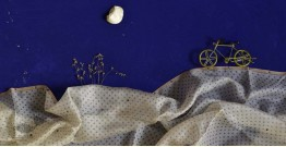 इत्तफाक ✤ Kota Doria Silk ✤ Embroidered Dupatta - 11