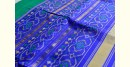 exclusive silk handwoven partola green & blue saree