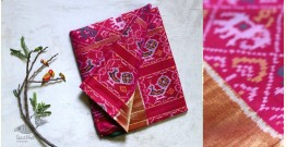 चंपा . चकली ✹ Silk Patola Saree ✹ 13