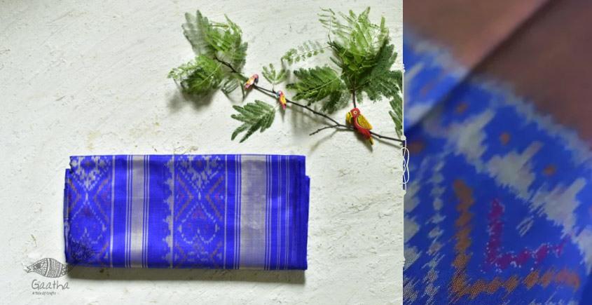 चंपा . चकली ✹ Silk Plain Patola Saree ✹ 19