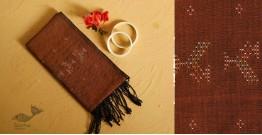 गुलमोहर ⁂ Tangaliya ⁂ Cotton Stole ⁂ Mustard