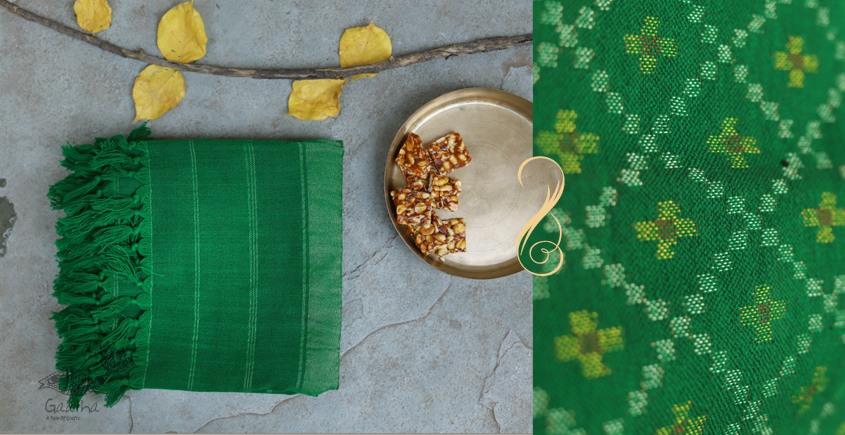 Vasant | वसंत ☘ Woolen Ikat Patola Shawl ~ 3