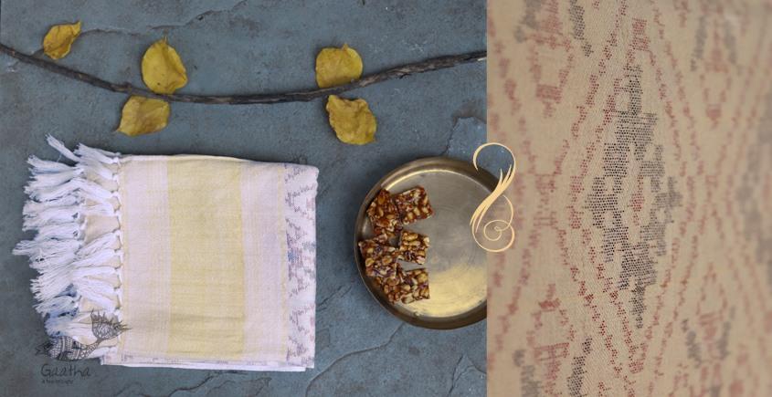Vasant | वसंत ☘ Woolen Ikat Patola Shawl ~ 14