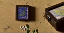 """Joyance ⚙ Patola Jewelry Box ( 5"""" x 5"""" ) ⚙ 3"""