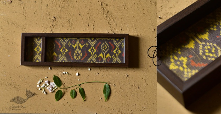 shop online patola silk serving tray