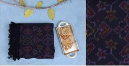 Vasant | वसंत ☘ Woolen Ikat Patola Shawl ~ Q