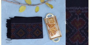 Vasant   वसंत ☘ Woolen Ikat Patola Muffler ~ G