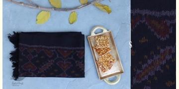 Vasant   वसंत ☘ Woolen Ikat Patola Muffler ~ J