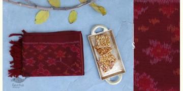 Vasant | वसंत ☘ Woolen Ikat Patola Muffler ~ F