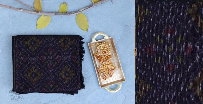 Vasant | वसंत ☘ Woolen Ikat Patola Shawl ~ N